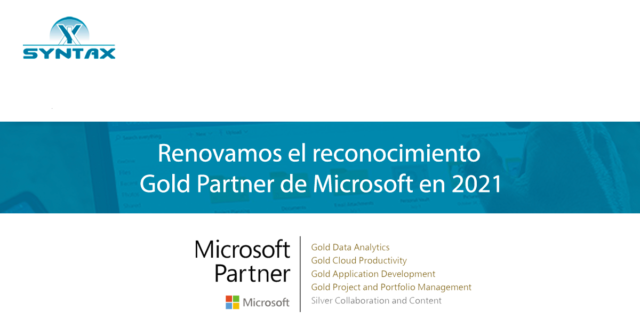 Microsoft Gold Partner Syntax